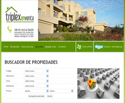 SITIO WEB AUTOADMINISTRABLE PARA INMOBILIARIAS